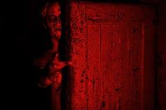 Luz roja sangre Imagen de archivo libre de regalías