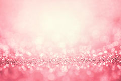 Luz rosada abstracta para el fondo romántico Fotos de archivo