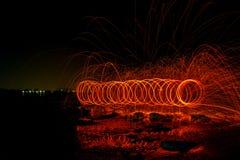 Luz, rotação fotografia de stock