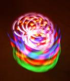Luz rotatoria Imágenes de archivo libres de regalías