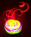 Luz rotatoria Fotos de archivo