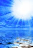 Luz santamente ilustração stock