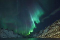Luz septentrional Fotografía de archivo libre de regalías