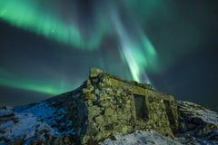 Luz septentrional Imagen de archivo libre de regalías