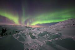 Luz septentrional Foto de archivo