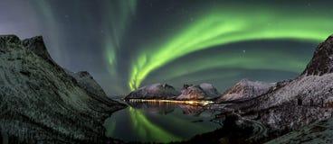 Luz septentrional Imagen de archivo