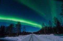 Luz septentrional Fotos de archivo libres de regalías