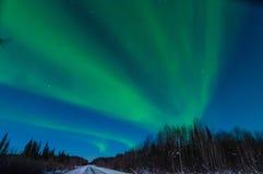 Luz septentrional Imágenes de archivo libres de regalías