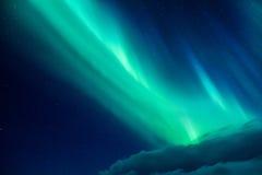 Luz septentrional hermosa Fotos de archivo