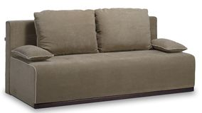 Luz - sofá cinzento Fotografia de Stock Royalty Free