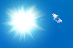 Luz solar Foto de Stock Royalty Free