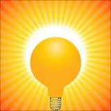 Luz solar Ilustración del Vector