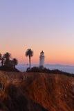 Luz solar da noite em Redondo Beach Fotografia de Stock