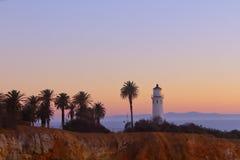Luz solar da noite em Redondo Beach Imagens de Stock Royalty Free