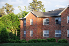 Luz solar no prédio de apartamentos Imagem de Stock Royalty Free