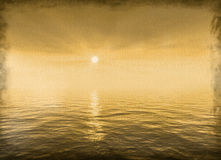 Luz solar velha da lona Foto de Stock Royalty Free