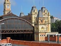 Luz Station Royaltyfria Foton