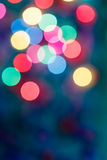 Luz suave de Bokeh colorida Fotografia de Stock Royalty Free