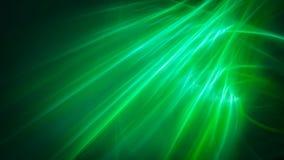 Luz suave verde do céu Ilustração do Vetor