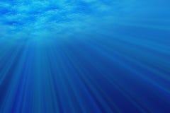 Luz subaquática ilustração royalty free