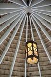 Luz suspendida Foto de archivo libre de regalías