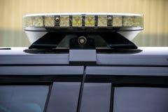 Luz SUV da patrulha da aplicação da lei da polícia Fotografia de Stock