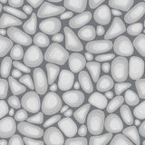 Luz - textura cinzenta do seixo do vetor Imagem de Stock Royalty Free