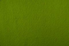 Luz - textura de feltro do verde Fotos de Stock