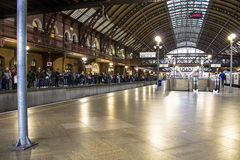 Luz train station Royalty Free Stock Photography