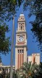 Luz Train Station Clock Tower Sao Paulo Brazil Royalty Free Stock Image