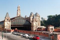 Luz train station, sao paulo Stock Image