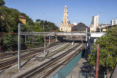 Luz train station Royalty Free Stock Images