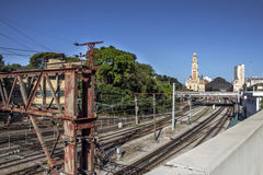 Luz train station Royalty Free Stock Image