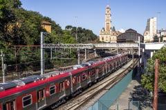 Luz train station Stock Photography