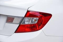 Luz traseira de um carro Imagens de Stock