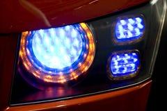 Luz traseira do carro Fotografia de Stock Royalty Free