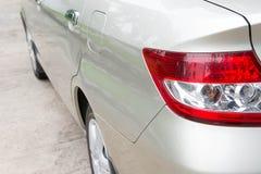 Luz traseira do carro Fotografia de Stock
