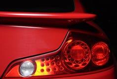 Luz trasera del automóvil Imagenes de archivo