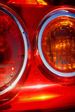 Luz trasera del coche Imagen de archivo