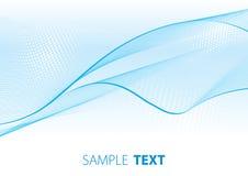 Luz - véu azul Fotos de Stock