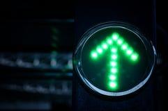 Luz verde Fotografia de Stock Royalty Free