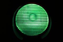 Luz verde Imagens de Stock Royalty Free
