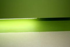 Luz verde Fotografía de archivo libre de regalías
