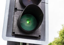 Luz verde Imagem de Stock Royalty Free