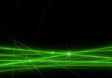 Luz verde abstracta