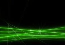 Luz verde abstrata Imagens de Stock Royalty Free