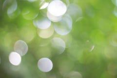 Luz verde con Bokeh Fotografía de archivo libre de regalías