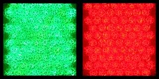 Luz verde, luz roja Fotos de archivo
