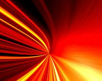 Luz vermelha e amarela Fotografia de Stock Royalty Free