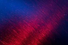 Luz vermelha listada através da chaleira de chá de aço inoxidável Imagem de Stock